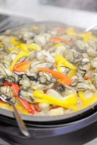 第3回の牡蠣のパエリヤ 今回はどんな料理?