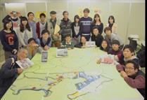 「のぞいてみよう ふくしまを」で福島学ぶ ふくしまを」で福島学ぶ 高校生、大学たち