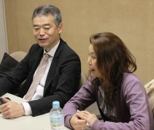 井上さんと尾崎さん
