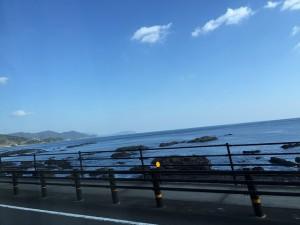 黒潮町の海